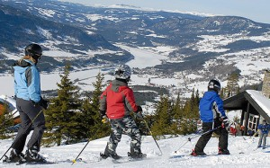 Bautismo blanco esquí