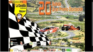 XX subida automovilistica Charra-Sierra de Béjar- Cartel